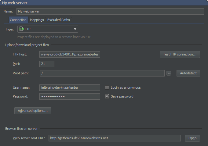 Deploying PHP applications with PhpStorm - PhpStorm - Confluence