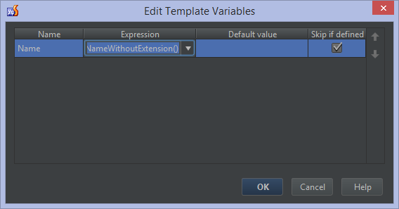 Live templates snippets in phpstorm phpstorm confluence if defined checkbox so that when the expression provides a value we dont have to provide it ourselves when we use the live template in the editor maxwellsz