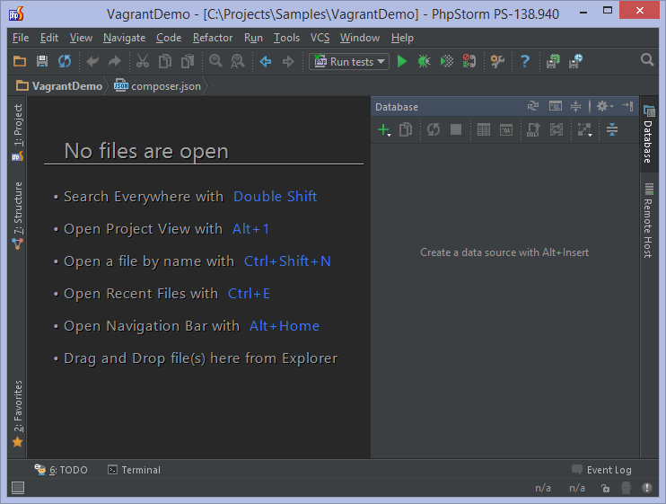 Databases and sql editor in phpstorm phpstorm confluence working with the database tool window ccuart Gallery