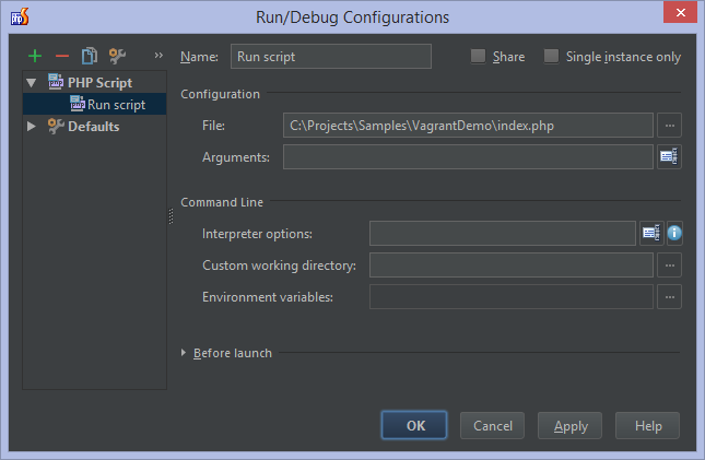 Working with Remote PHP Interpreters in PhpStorm - PhpStorm - Confluence