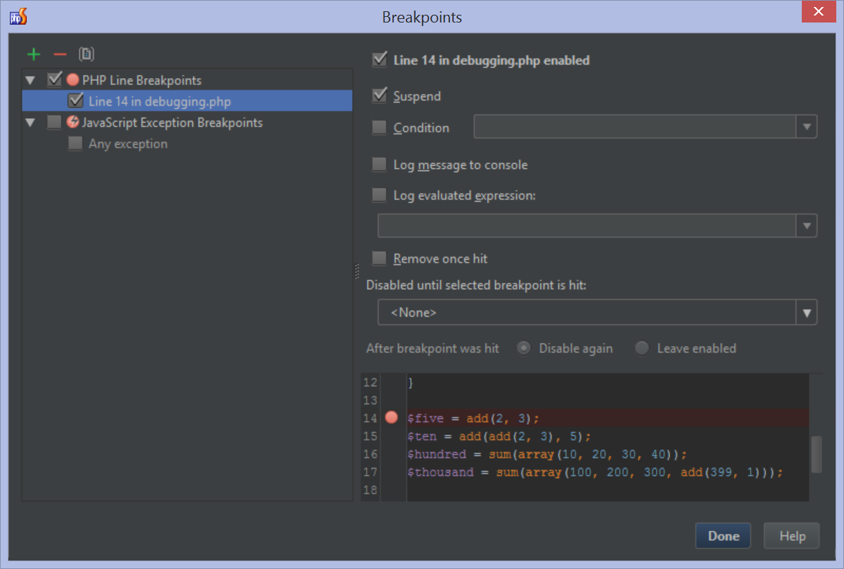 Using The Phpstorm Debugger Phpstorm Confluence